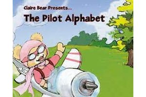 Powder Puff Pilot Book: Claire Bear Presents The Pilot Alphabet