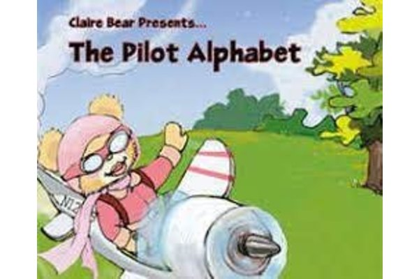Powder Puff Pilot Book: Claire Bear Presents The Pilot Alphabet