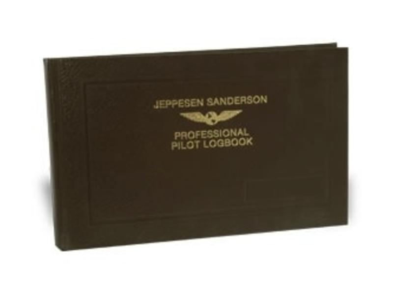 Jeppesen Sanderson Logbook: Professional Pilot, Jeppesen