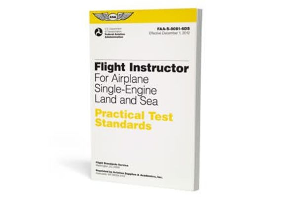 ASA PTS: Flight Instructor Airplane