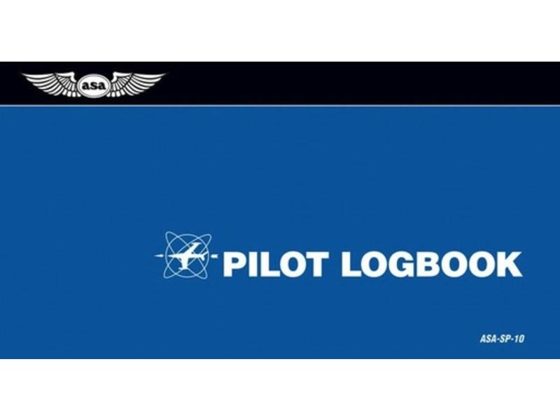 ASA Pilot Logbook 16 Pages