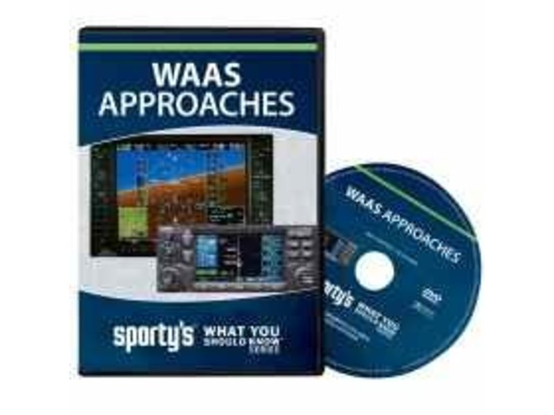 Sporty's Pilot Shop DVD: WAAS Approaches