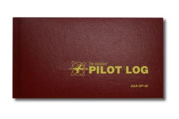 ASA Pilot Logbook Red