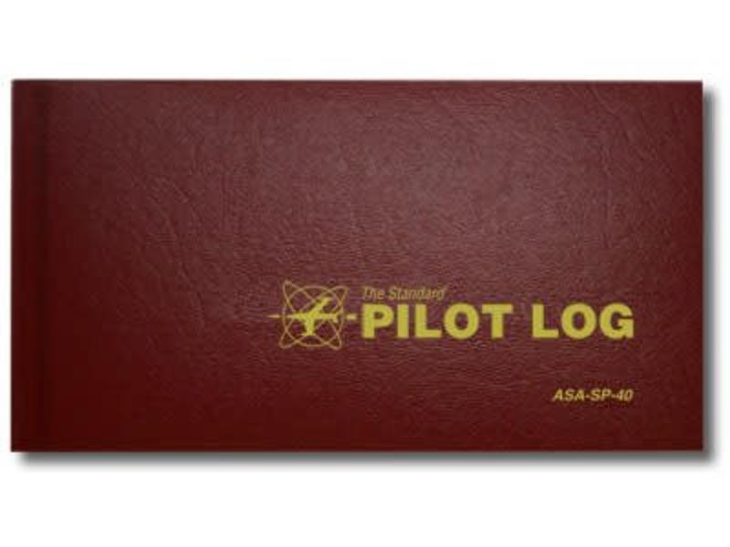ASA Pilot Logbook Red