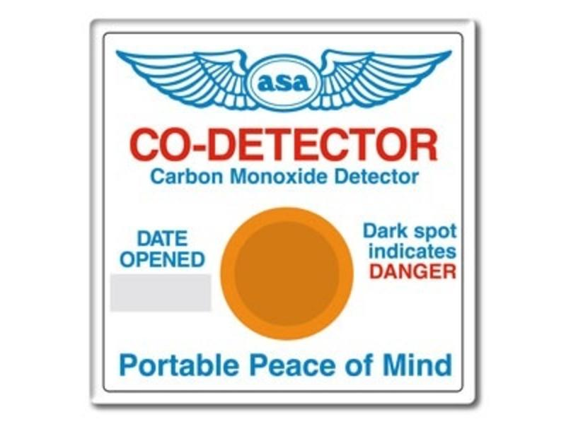 ASA Carbon Monoxide Detector