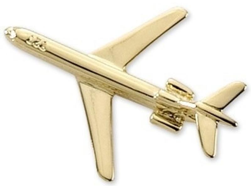 Pin: Boeing 727 Gold