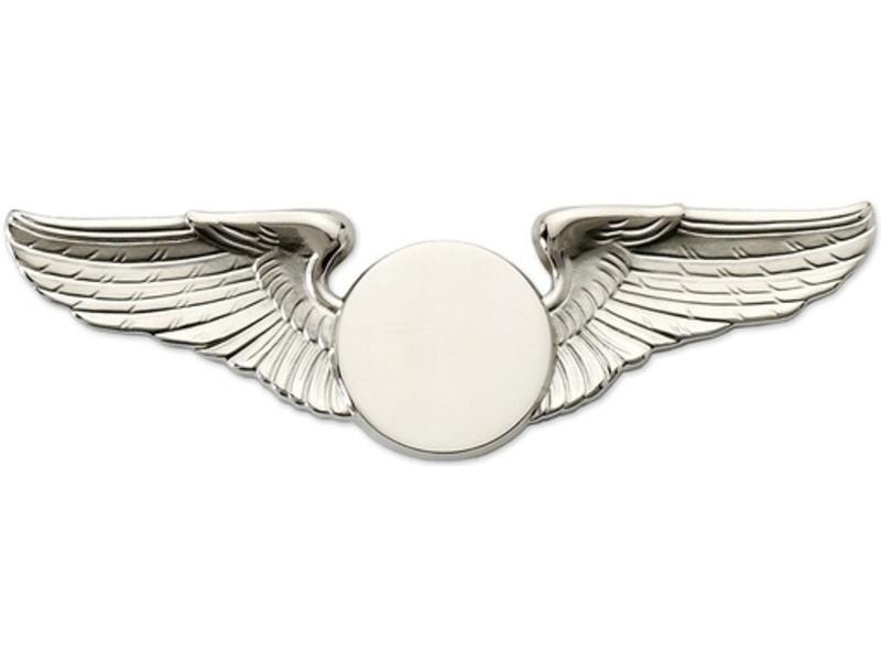 Pin: Classic Wings Silver