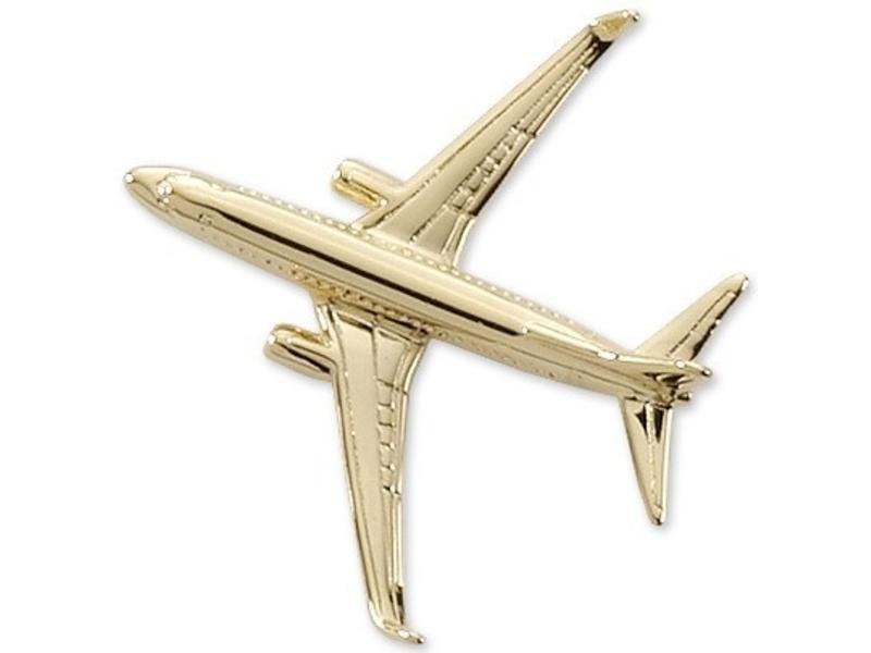 Pin: Boeing BBJ/B737-800 Gold
