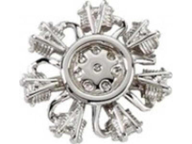 Pin: Radial Engine Silver