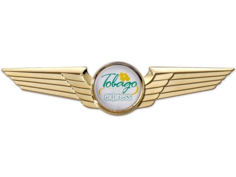 Pin: Modern Wing Gold,