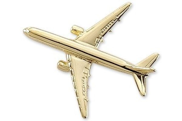 Pin: Boeing 767 Gold
