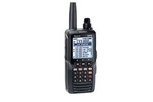 Yaesu / Vertex FTA-750L Airband Transceiver ILS (Localizer and Glideslope), VOR Navigation and GPS receiver