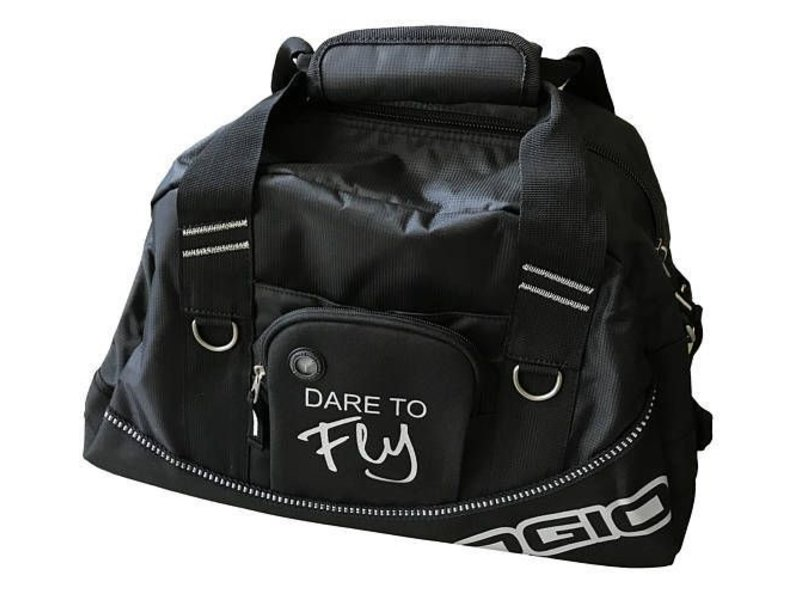 """Dare to Fly Apparel """"Dare to fly"""" Travel Bag"""