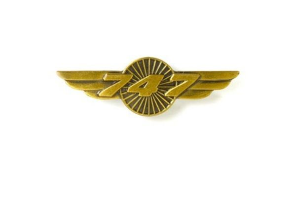 Johnson's Pin: Wings 747