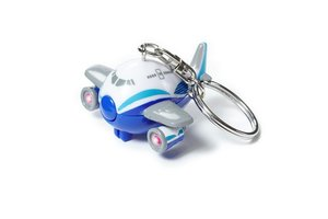 Keychain: Pudgy Sound & Light Boeing