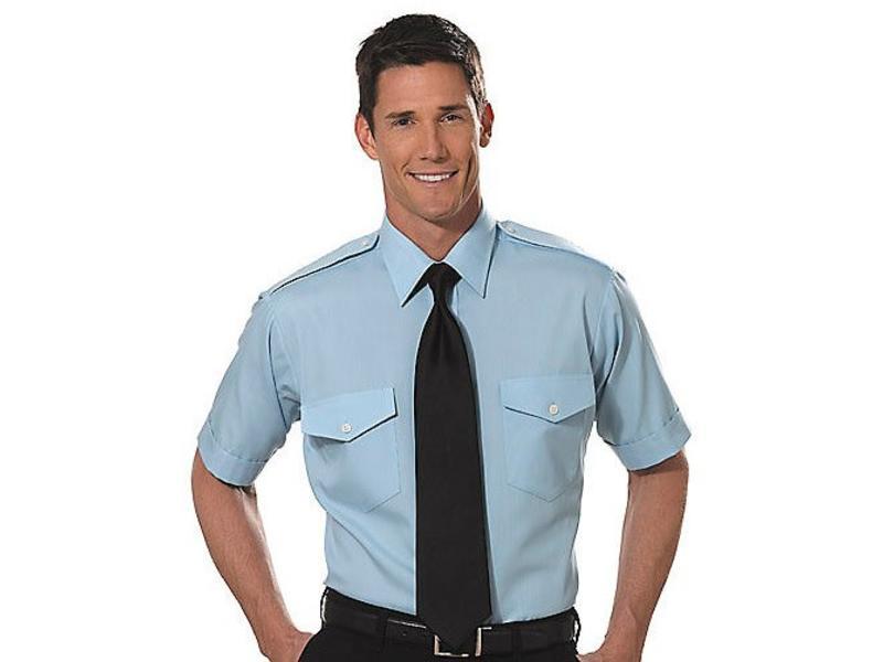Shirt: Aviator SS Blu 16.5