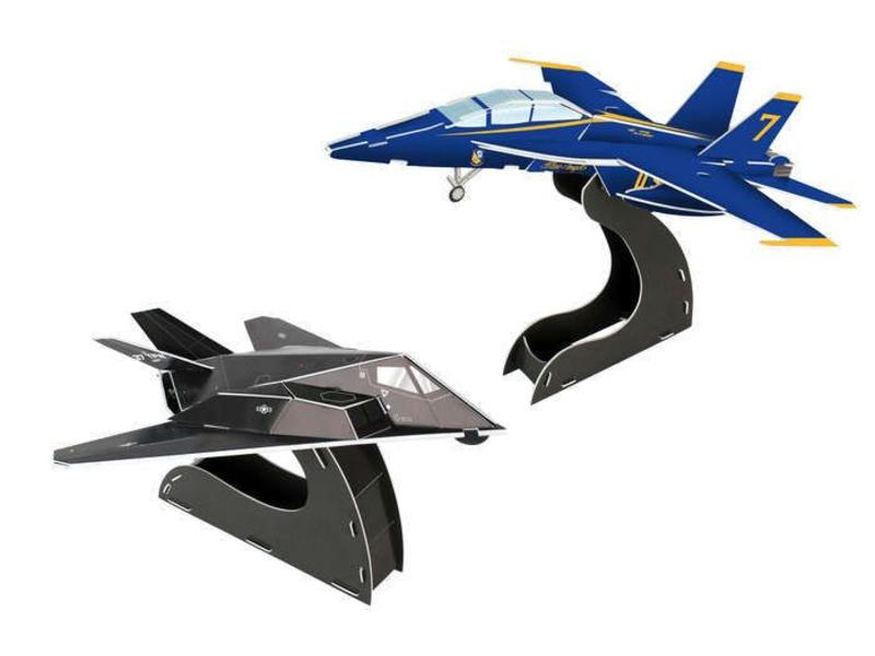 Daron World Trading Inc. BLUE ANGELS F/A-18/F117 3D PUZZLE