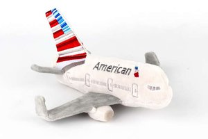 Daron World Trading Inc. American Airlines Plush Airplane W/Sound