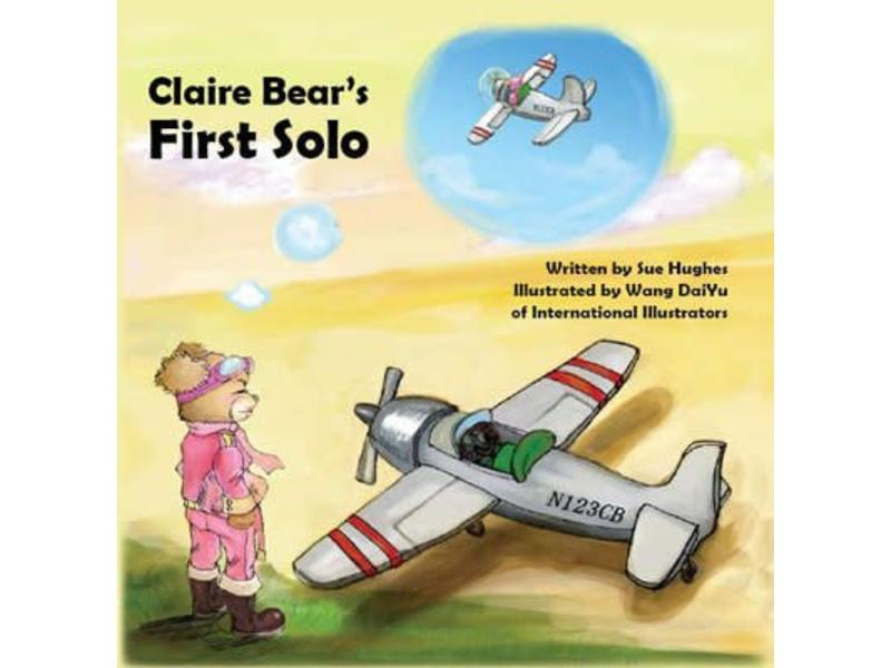 Powder Puff Pilot Book: Claire Bear's First Solo