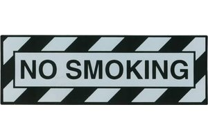 STICKER: NO SMOKING