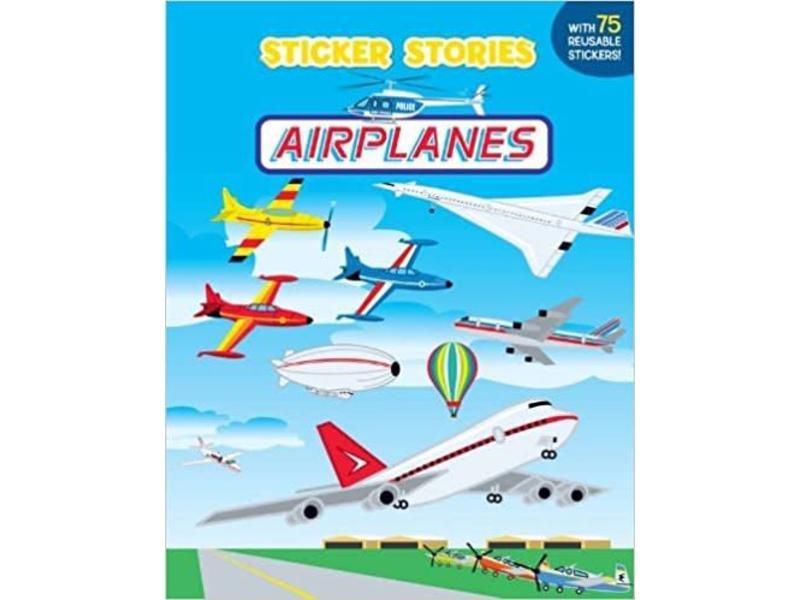 Sticker Stories Airplanes