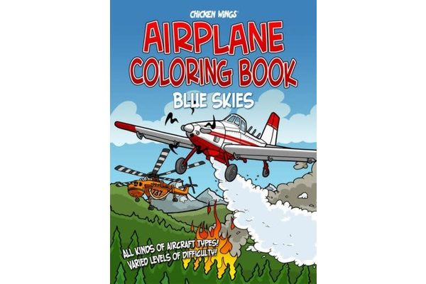 Blue Sky Coloring Book