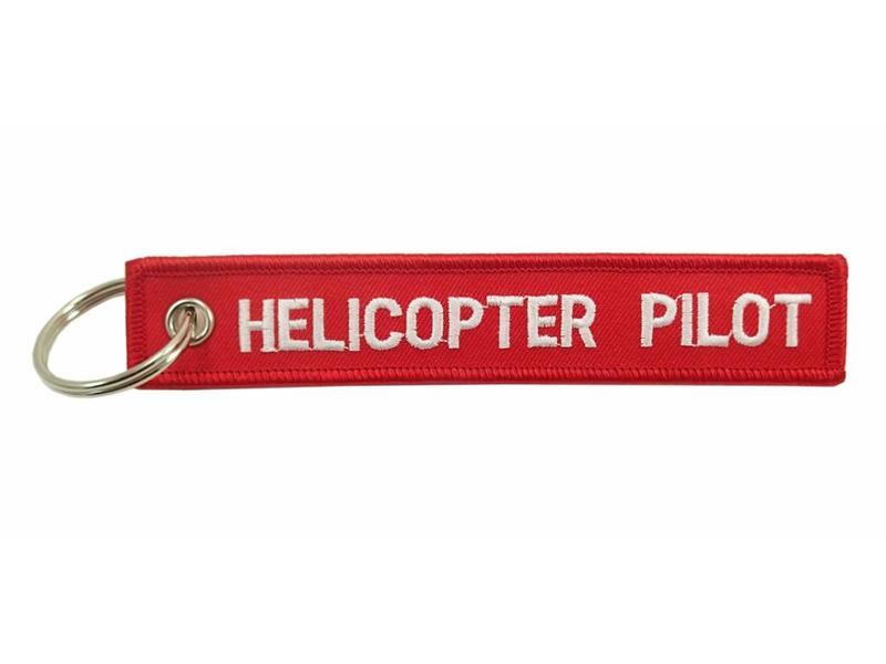 Key Chain: Helicopter Pilot