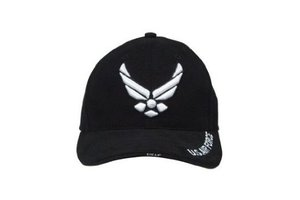 Cap: Black USAF Wing