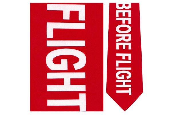 Aero Phoenix Tie: Remove Before Flight
