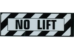 Aero Phoenix Sticker: No Lift