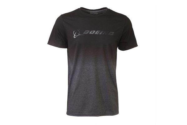 The Boeing Store T-Shirt: Boeing Gradient, Blk