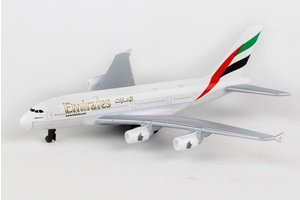 Emirates A380 Single Plane