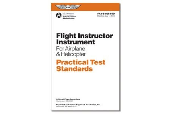 PTS - Flight Instructor Instrument & Helicopter