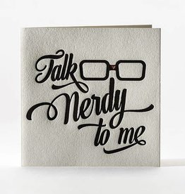 Elum Designs Talk Nerdy Card