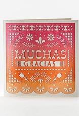 Elum Designs Muchas Gracias Card