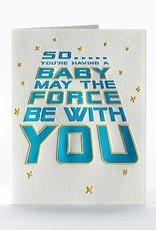 Elum Designs Star Wars Baby Card