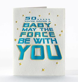 Elum Designs Star Wars Baby Card