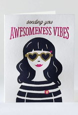 Elum Designs Awesomeness Vibes Card