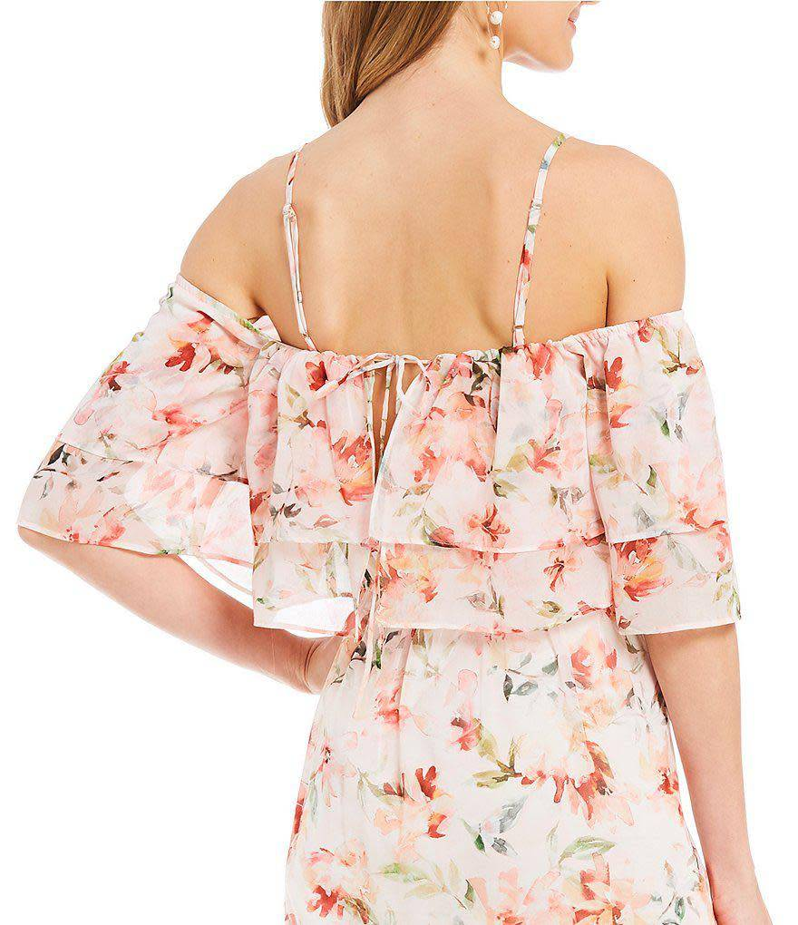 BB Dakota Tae Back Ruffle Dress