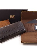 Frye/Jimlar Corporation Melissa Wallet Dark Brown