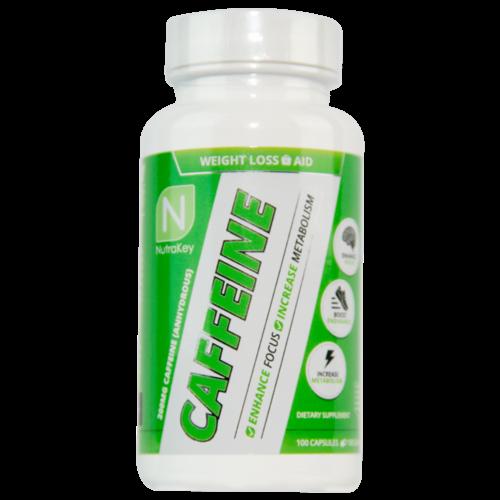 Nutrakey Caffeine 100 Caps