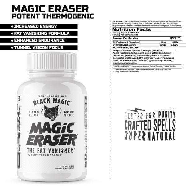 Black Magic Magic Eraser