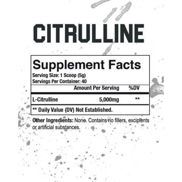 Axe & Sledge L-Citrulline