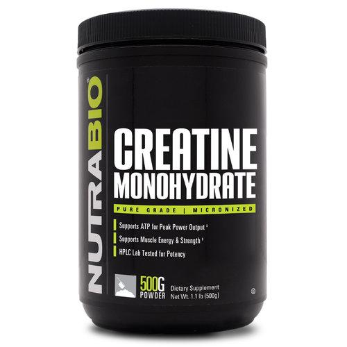 Nutrabio Nutrabio Creatine Monohydrate 500g