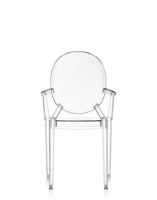 Kartell Kartell Louis Ghost Chair in Crystal