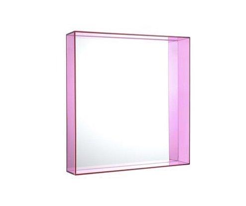 Kartell Kartell Only Me Square Mirror Fuschia