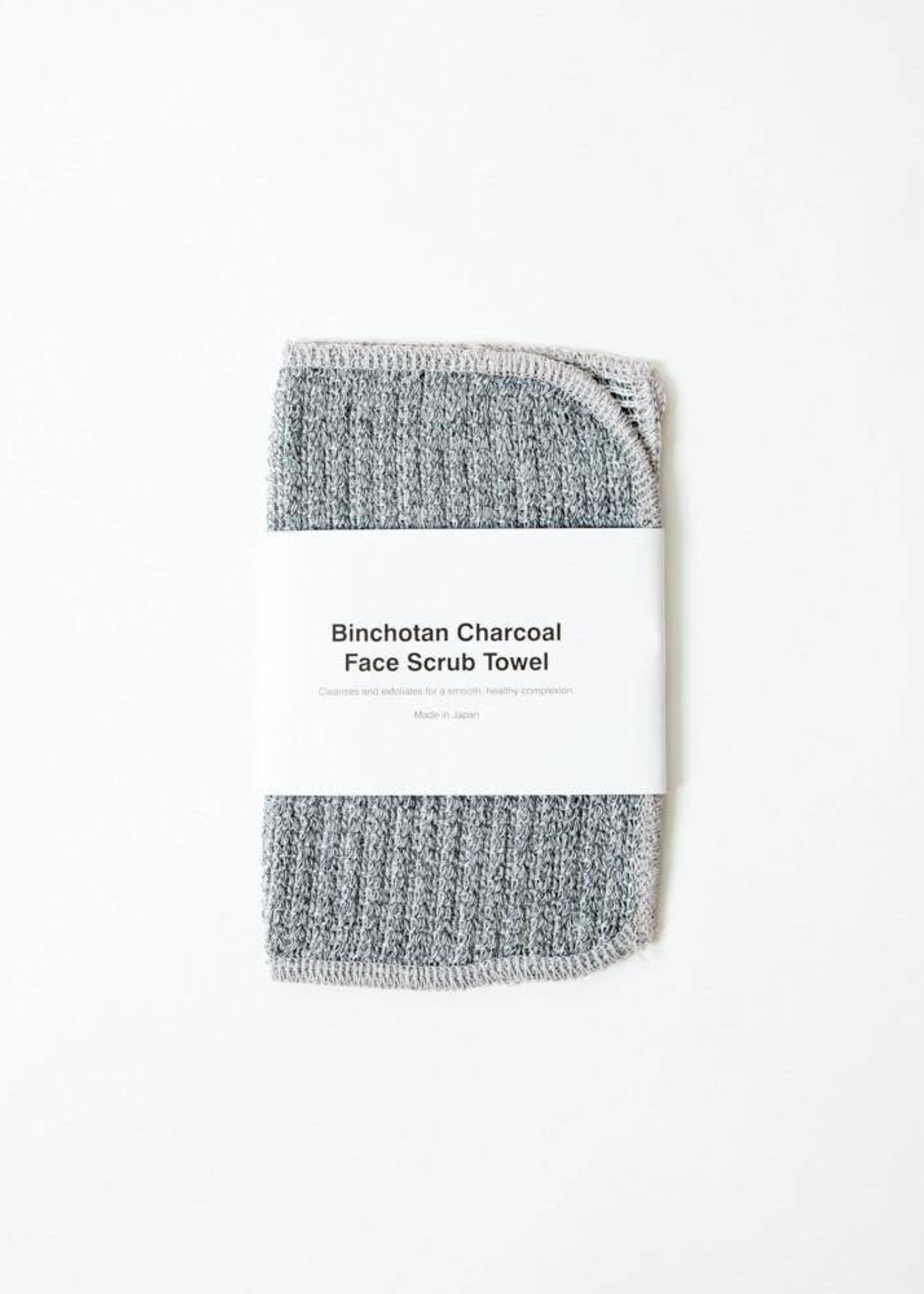 Morihata Binchotan Charcoal Face Scrubbing Towel