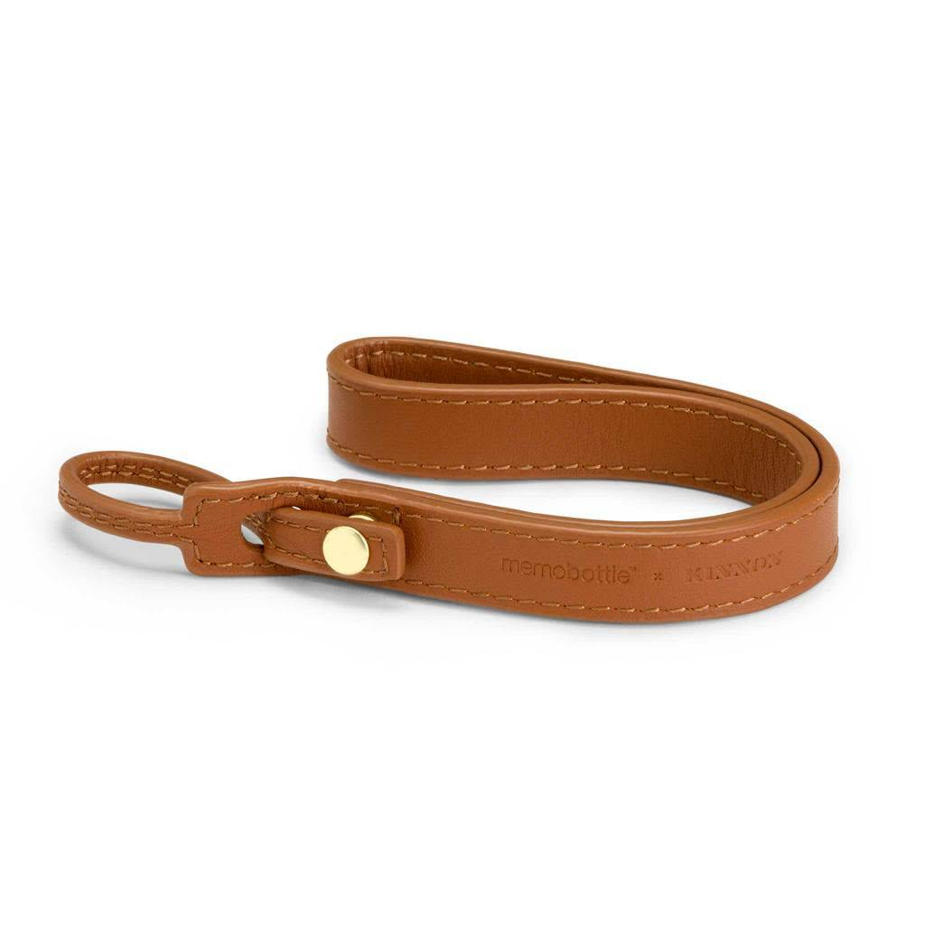 Memobottle Memobottle Lanyard: Brown Leather