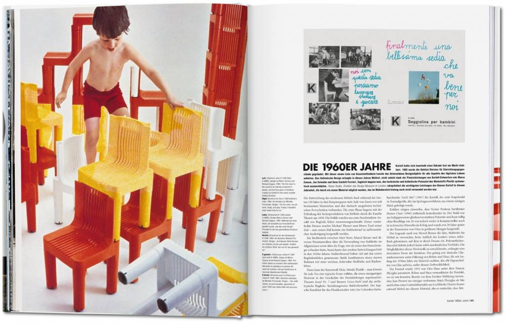 Taschen Kartell: The Culture of Plastics