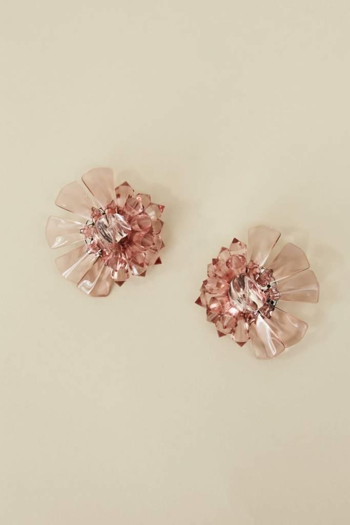 Rachel Comey Rachel Comey Marquee Earrings Clear Pink